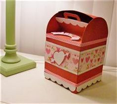 Project Center - Mailbox for Valentine's Day by Cricut