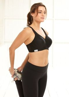 Glamorise - Le soutien-gorge sport au maintien exceptionnel pour les poitrines généreuses - Couleur : BLACK: Amazon.fr: Vêtements et accessoires