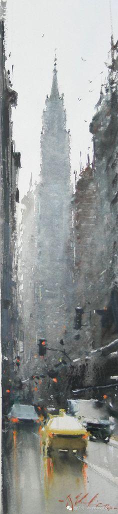 《JOSEPH ZBUKVIC 约瑟夫∙祖布克维克水彩画展》4月25日隆重开幕!(水彩人生博客) - 水彩人生 -