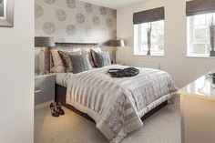 Bedroom @ St Canna's Green, Llangan, Cardiff by David Wilson Homes