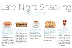 The Perfect Late Night Snacks