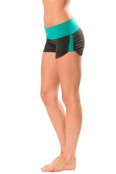 Unstoppable Run Short in Jade - BODYPOP Activewear