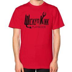 Unisex T-Shirt (on man) – WickedKink Playbook