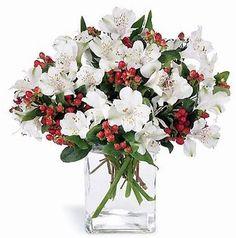 Fleurs, bouquet blanc, douce simplicité, Le jardin d'Andrée-Anne, www.lejardin.ca