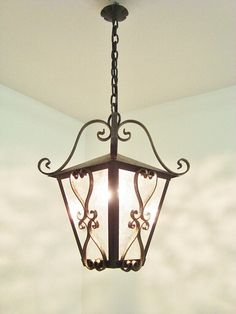 Vintage lantern, Wrought iron, French country, Outdoor lantern, Shabby chic, Farmhouse, Country, Porch, Entrance, black lantern, Lanterne Looks Vintage, French Vintage, Wrought Iron Chandeliers, Outdoor Lantern, Black Lantern, Vintage Lanterns, Wall Lights, Ceiling Lights, Electrical Equipment