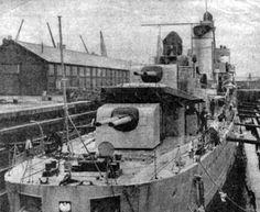 Blyskawica in dock in 1940