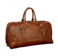 Leather Holdall and Mens Leather Holdalls - by Maxwell Scott - £399.99