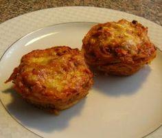 Rezept Spaghetti-Muffins mit Zucchini und Karotten von gagg - Rezept der Kategorie sonstige Hauptgerichte