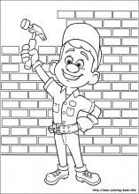 Fix It Felix Wreck It Ralph Coloring Pages On Coloring Book Info