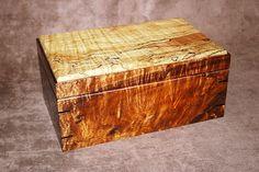 Figured Koa/ Spalted Maple Humidor
