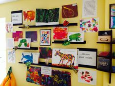 Documentation- The Art of Eric Carle at The Sunflower School Orangeville ON