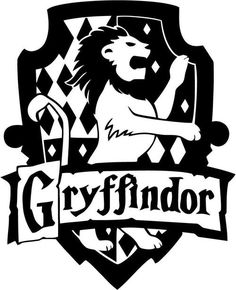 Vinyl Decal Sticker - Gryffindor House decal inspired by Harry Potter for Windows, Cars, Laptops, Macbook etc Harry Potter Decal, Harry Potter Room, Harry Potter Houses, Harry Potter Hogwarts, Hogwarts Houses, Harry Potter Stencils, Silhouette Cameo, Silhouette Projects, Art Clipart