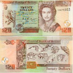 Belize Dollar   Belize - Belizian Currency Image Gallery - Banknotes of Belize ..