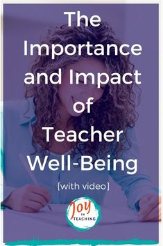 The Importance and Impact of Teacher Well-Being Teacher Websites, Teacher Tools, Teacher Resources, Teaching Ideas, Psychology Major, Psychology Facts, Compassion Fatigue, Work Life Balance Tips, Health Teacher