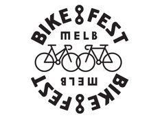 Melbourne Bike Fest - new logo by SouthSouthWest