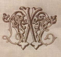 Number Four Eleven: MONOGRAMS! | Letter style, shadow effect, 2 tone color