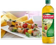 Carbonell Virgen Extra ¡hace especial lo cotidiano! Chefs, Tapas, Cocina Diy, What You Eat, Barbacoa, Sushi, Pineapple, Japanese, Fruit