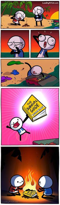La mejor utilidad de cualquier guía de supervivencia
