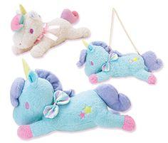 【2013.05】【キキ&ララショップ in Daimaru★Shinsaibashi】Unicorn, Stuffed toy (top) ¥1,449, Chain Porch (in) ¥2,310, Cushion (below) ¥6,090 ★Little Twin Stars★