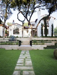 Exterior and landscaping