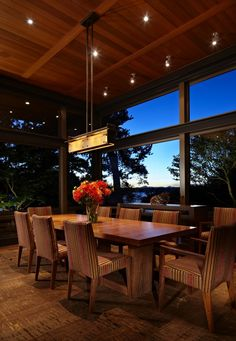 Dinner - Lake House 2 by McClellan Architects