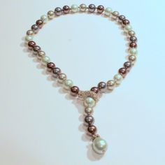Golnar Jewelry - NECKLACE EARTH TONES PEARLS SIMPLE ELEGANT, $99.00 (http://www.golnarjewelry.com/pearl-necklace-multi-color-earth-tones-tamicka/)