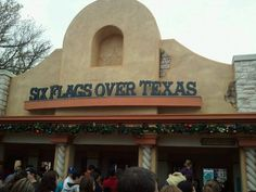 Six Flags Over Texas  Worked there in college