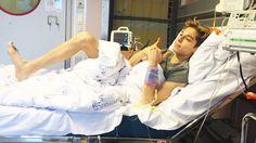17 år gamle Leon Pal drømte om store muskler og en slank kropp, men endte i en sykeseng.