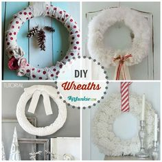 Popular DIY Wreaths For Your Home!