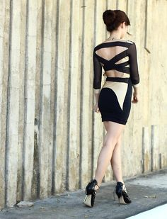 Discover this look wearing Black Us Trendy Dresses - Strapped In by Kryz styled for Chic, Girls Night Out in the Summer Trendy Dresses, Nice Dresses, Short Dresses, Summer Dresses, Fashion Art, Fashion Outfits, Luxury Fashion, Lil Black Dress, Summer Looks