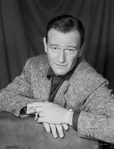 John Wayne sports coat Premium Art Print
