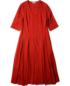 MARGARET HOWELL - PANELLED DRESS - DRESSES - WOMEN