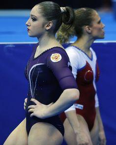 Aliya Mustafina - 2013 European Artistic Gymnastics Championships