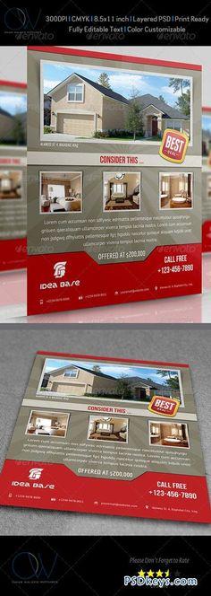 Real Estate Flyer 3508653