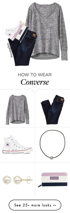 """""""day 20!!!!//carnival"""" by econgdon on Polyvore featuring Athleta, American Eagle Outfitters, Majorica, Converse, Vineyard Vines, Honora and 365happydays"""