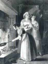 On St Faith's day maidens cooked a dumb cake from flour and spring water. After chanting a rhyme it was passed through a wedding ring and eaten. That night the maiden would dream of her husband.