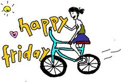 Happy Friday! May your weekend be filled with #bike rides.