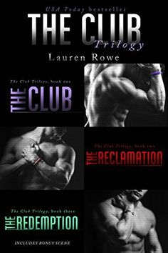 The Club Trilogy by Lauren Rowe