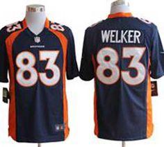 Women's Denver Broncos 83 Wes Welker Orange Team Color Drift Fashion Jersey