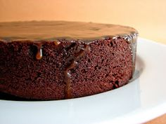 :pastry studio: Chocolate Rum Raisin Cake with Brown Sugar Rum Glaze #plain