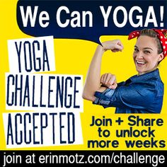 Maggie and I are doing her last one this summer and should finish up right in time for the next one. 2014 Fall Yoga Challenge with Erin Motz | Erin Motz