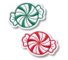 Peppermint Clip Cover FELT STITCHIES (in the hoop) $5