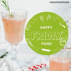Grapefruit Hagebutte Cocktail #alkoholfrei #drink #happyfridayfood #nu3