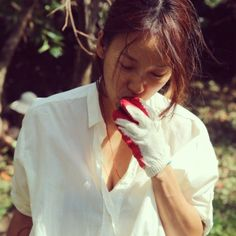 Lee Hyori, Princess Style Wedding Dresses, Tennis Fashion, Korean Star, Korean Celebrities, Mom And Dad, Role Models, Just In Case, Personal Style