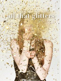 All That Glitters by @clubmonaco --you know we love this!
