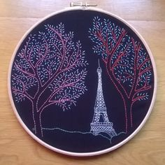 New embroidery kit on etsy : www.etsy.com/shop/fileusedetoiles #embroiderykit #etsyseller #embroideryart #embroideryhoop #etsyfrance