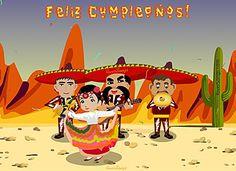 Mariachis! Feliz Cumpleaños http://www.riversongs.com/postales/tarjetas-de-cumpleanos.html  RiverSongs Postales Gratis de Cumpleaños con musica