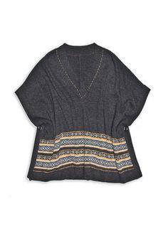 Ponchy Sweater