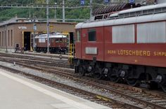 Swiss Railways, Locomotive, Buildings, Construction, Train, Switzerland, Building, Zug, Locs