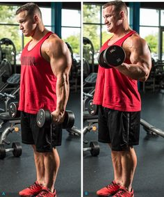7 MustDo Hacks For Huge Arms is part of health-fitness - Try Hunter Labrada's effective hacks for triedandtrue arm exercises to maximize your results and add size to your biceps and triceps! Fitness Gym, Fitness Tips, Fitness Motivation, Health Fitness, Lifting Motivation, Biceps And Triceps, Biceps Workout, Ripped Workout, Good Arm Workouts